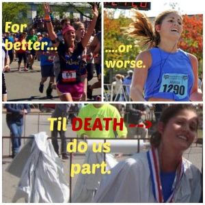 run collage