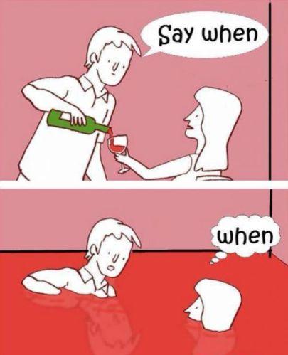 wine when